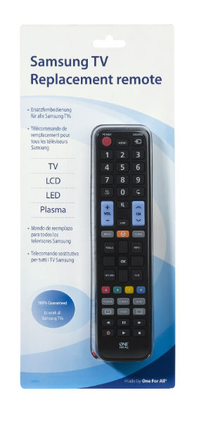 Samsung TV Replacement Remote – URC 1910
